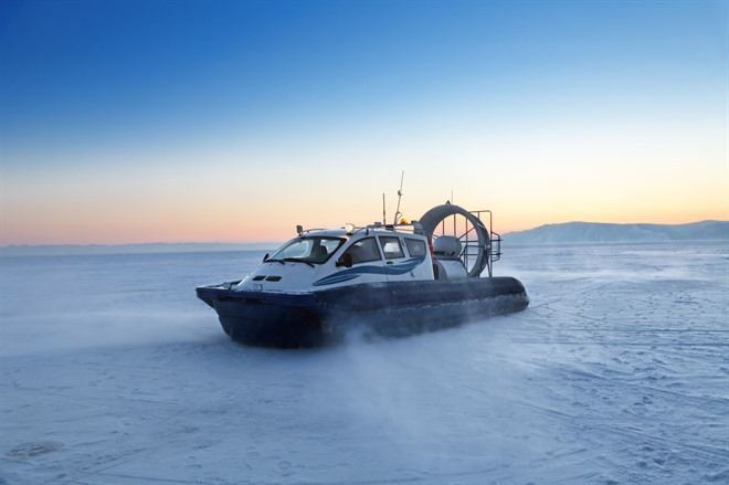 HOVERCRAFT ON THE ICE/OR BOAT TRIP ON LAKE BAIKAL