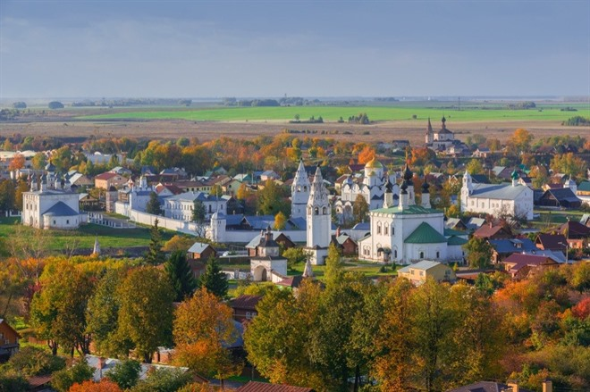 MOSCOW TO SUZDAL