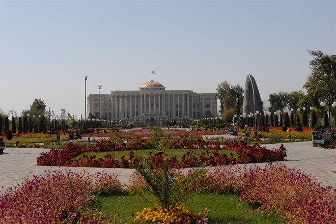 ARRIVE IN DUSHANBE