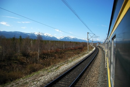 TRAIN TO IRKUTSK