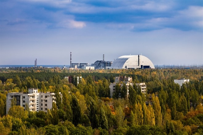 View of the Reactor at Chernobyl