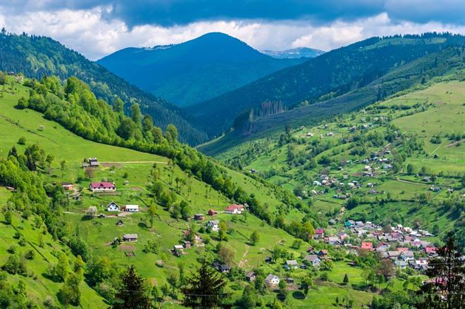 Carpathian Mountain