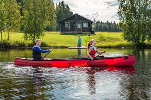 Enjoy optional activities such as canoeing