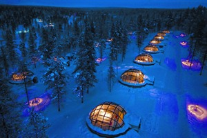Glass Igloos at Kakslauttanen