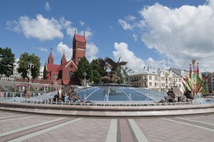 Independant Square in Minsk