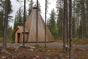 Lapland - Lappish Hut