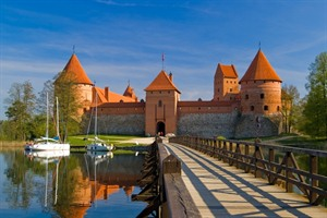 Trakai Castle, Latvia