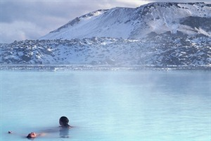 Blue Lagoon in the winter