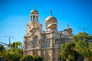 The Cathedral of the Assumption in Varna - Bulgaria