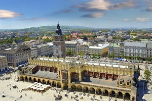 View of the main square, Krakow