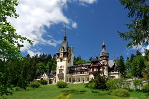 Peles Castle in Sinaia - Romania