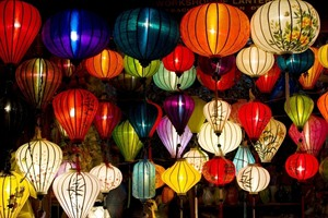 Lanterns on sale at Hoi An