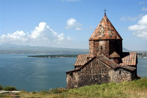 Medieval Church on Lake Sevan