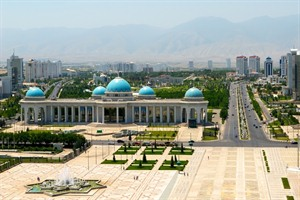 Central Square in Ashgabat