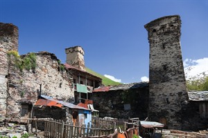Towers and houses, Ushguli