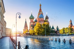St Basil Cathedral in Moscow - Russia