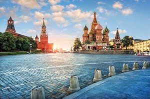 Red square in Moscow - Russia