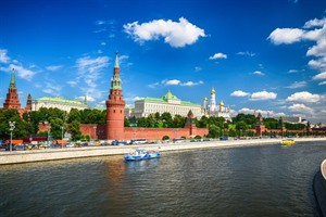View of the Kremlin - Russia