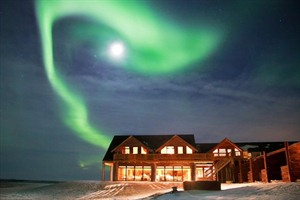 Northern Lights over the Hotel Ranga