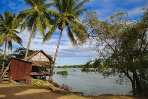 Si-Phan-Don (Four Thousand Islands) in Southern Laos