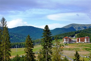 Radisson Blu Bukovel in the summer time