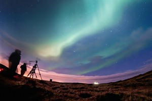 Northern Lights photography, Iceland