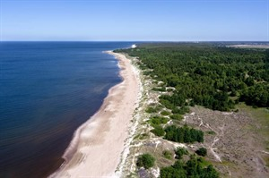 Coastline Lithuania