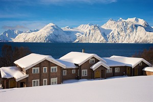 Lyngen Lodge from the outside