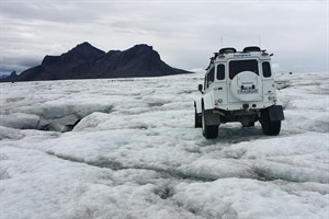 Superjeep in Iceland