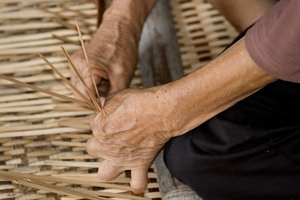 Iban weaving, Batang Ai National Park