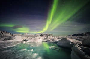 Northern Lights on Svalbard