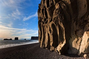 Black sand beach - South Coast of Iceland