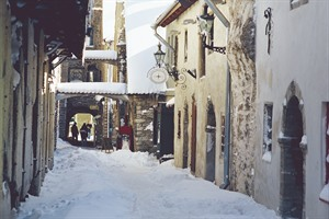 St. Catherines Passage in Winter