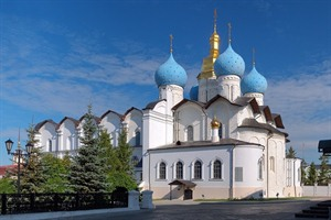 Cathedral of the Annunciation in Kazan Kremlin