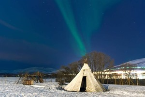 Traditional Lavvu Tent in Tromso
