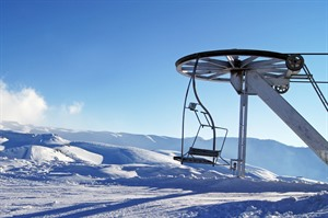 Ski Lift at Faraya
