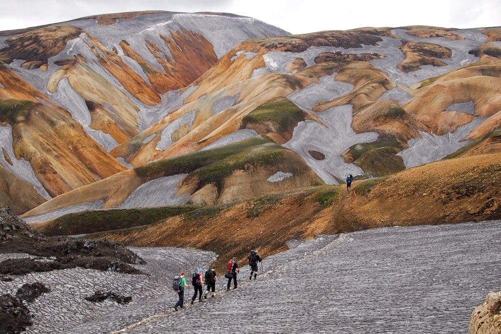 Iceland Landmannalaugar Trek Book Tours