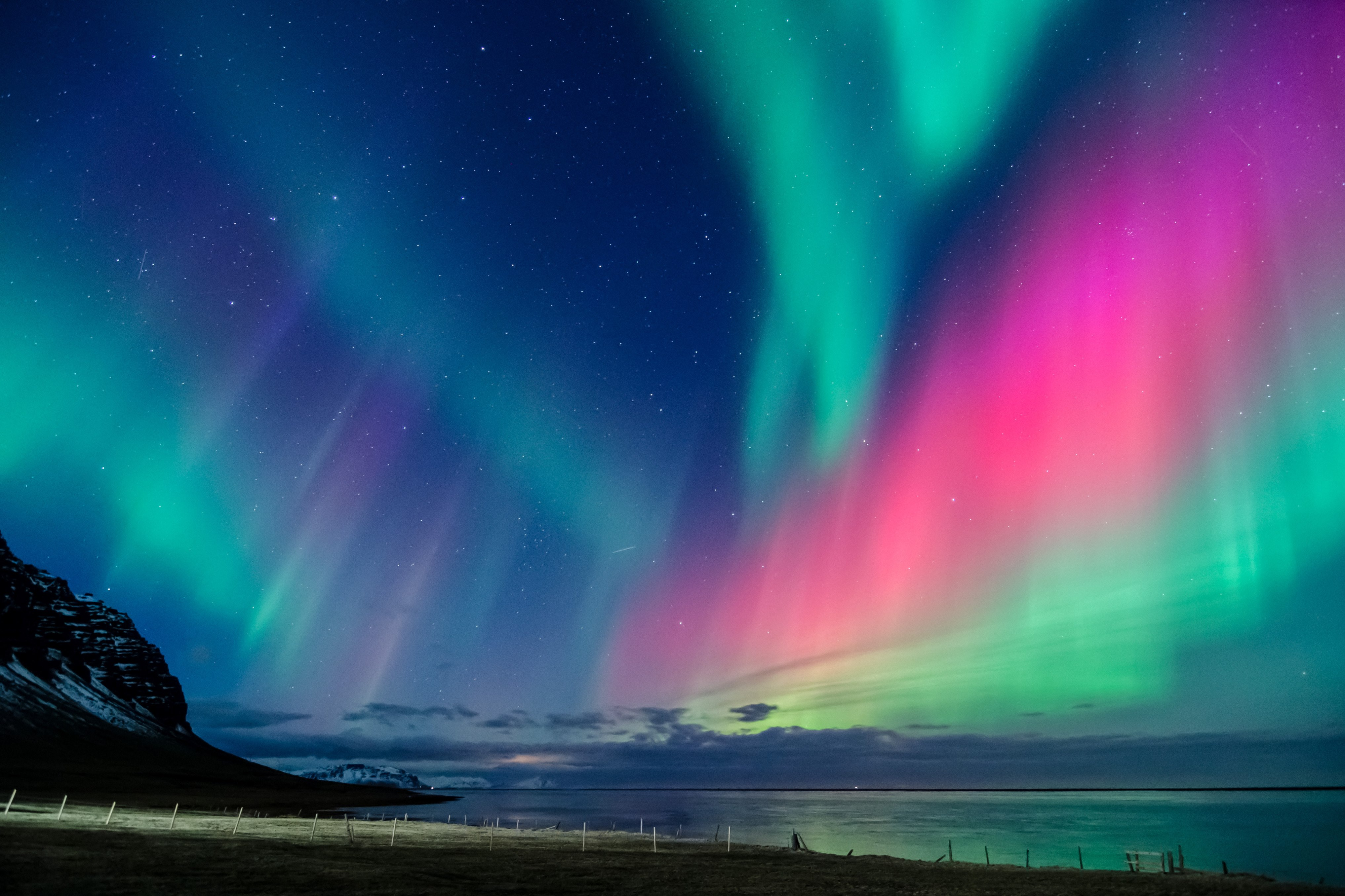 how to take pictures of aurora borealis with iphone