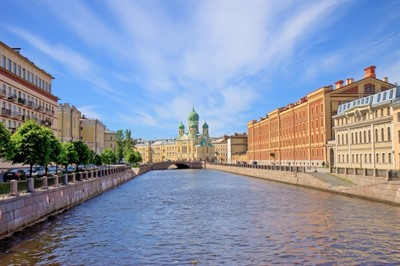 4-star Russian River Cruise | Moscow to St Petersburg