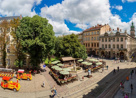 A Short Break in Lviv
