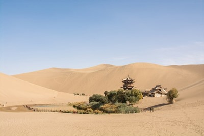 Along the Silk Road of China