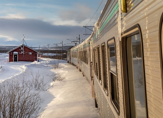 Arctic Circle by Rail