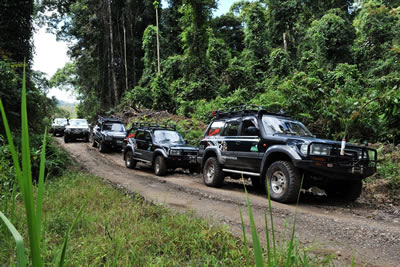 Borneo 4WD & Wildlife Adventure