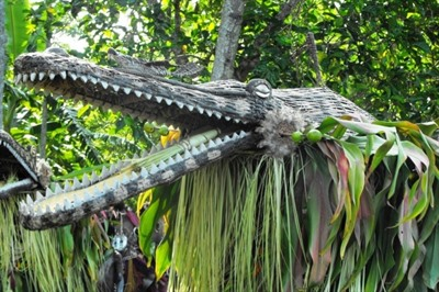 Cruise the Sepik River in Papua New Guinea