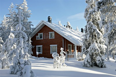 Lakituvat Lapland Log Cabin Break