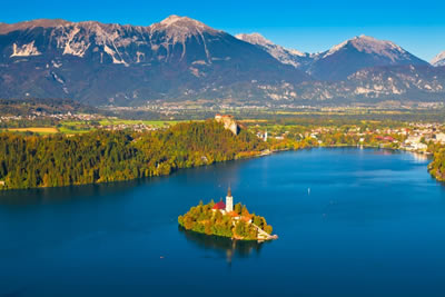 City and Lakes: Ljubljana & Lake Bled