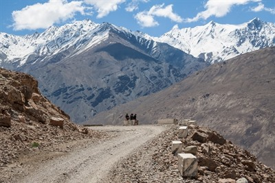 Pioneering Pamir Highway