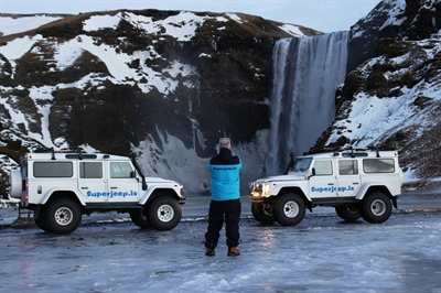 Private Superjeep Winter Adventure