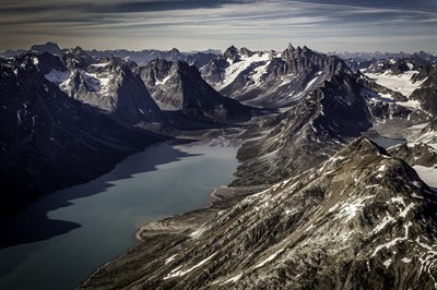 Remote East Greenland in Summer