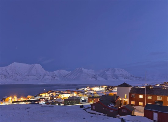 Spitsbergen Polar Nights at the Coal Miners' Cabins